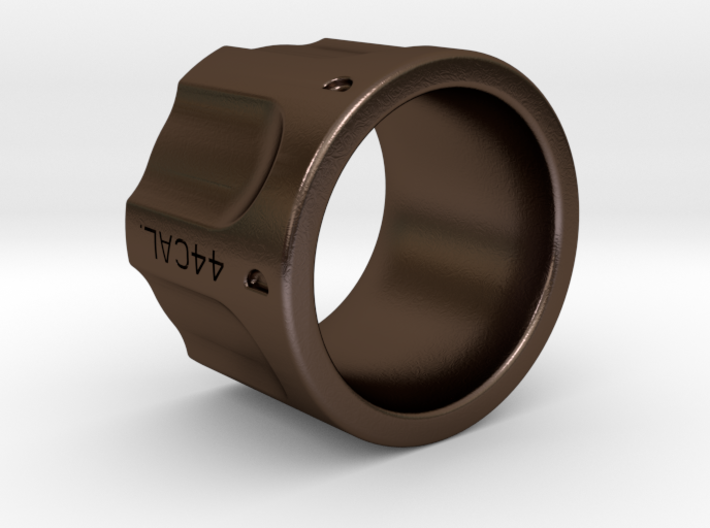 Revolver Ring Size 7 3d printed