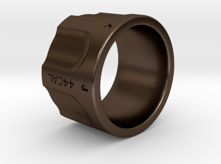 Revolver Ring Size 11 3d printed