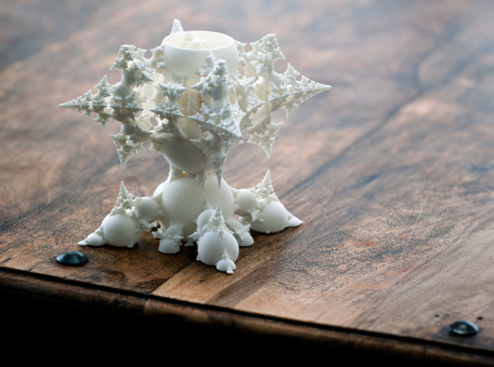 The Holy GRAIL of 3D FRACTALS 3d printed
