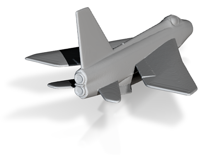 RAF Lightning Rescaled 1to500 3d printed