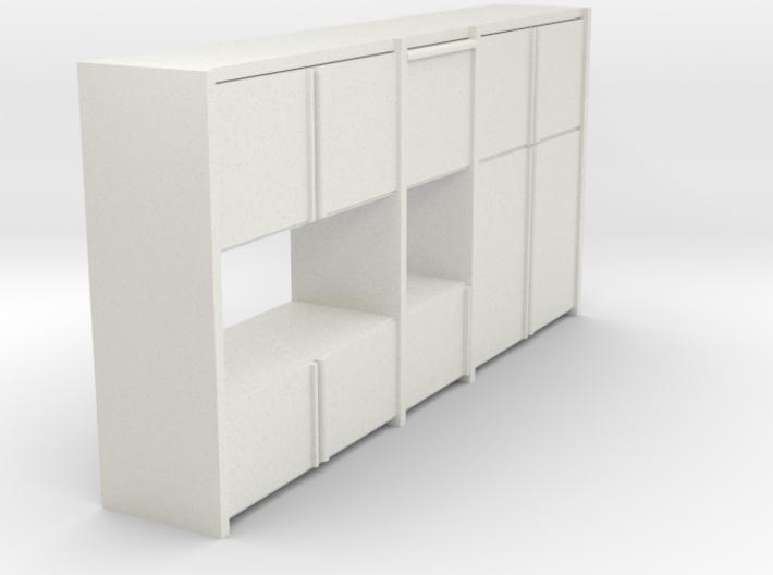 A 003 - 1 Sideboard 1 1:50 3d printed