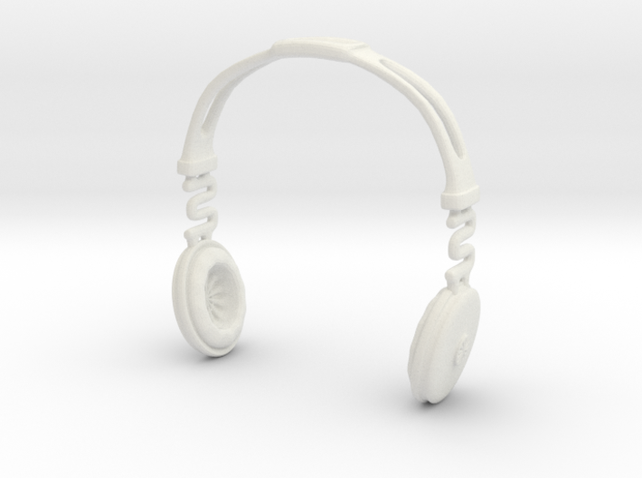 Headphones BOSS Version: BJD Doll SD 1/3 size 3d printed