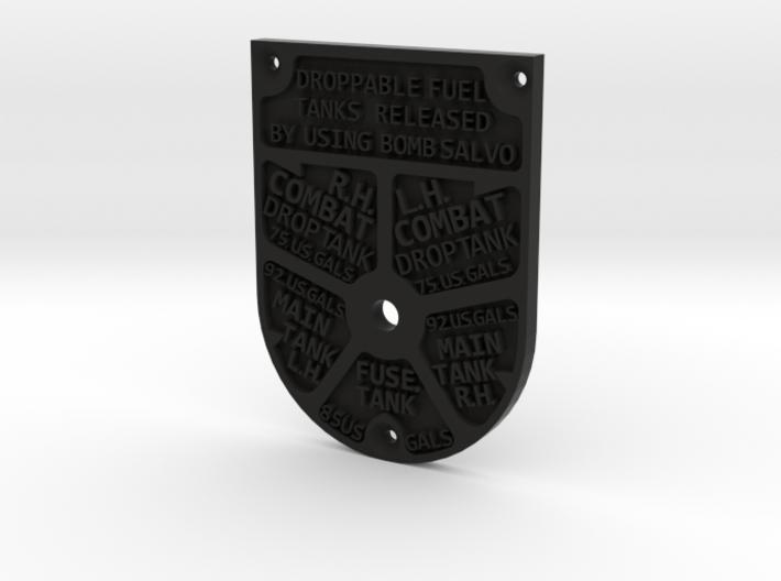 P51 Fuel Tank Selector 3d printed