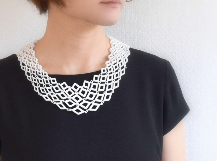 Gregarious Necklace 3d printed