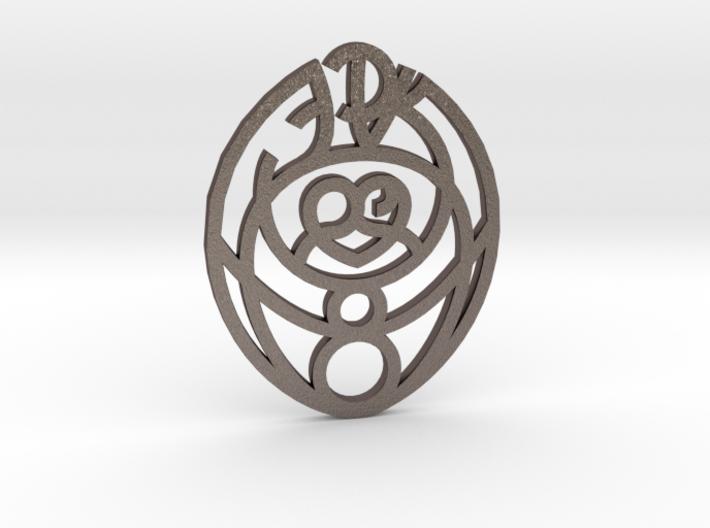 Passion Cosmic Egg / Huevo cósmico de la Pasión 3d printed