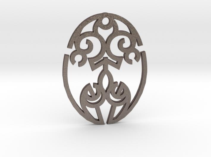 Nature Cosmic Egg / Huevo Cósmico de la Naturaleza 3d printed