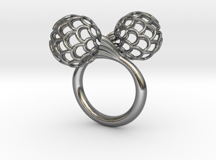 Bloom Ring (Size 5) 3d printed
