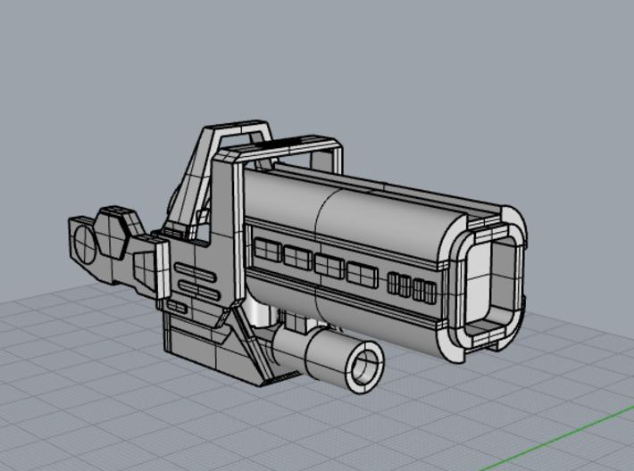 Trail Blaster 3d printed