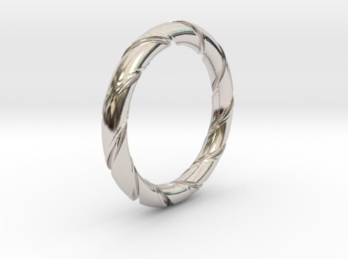 Bernd - Ring 3d printed