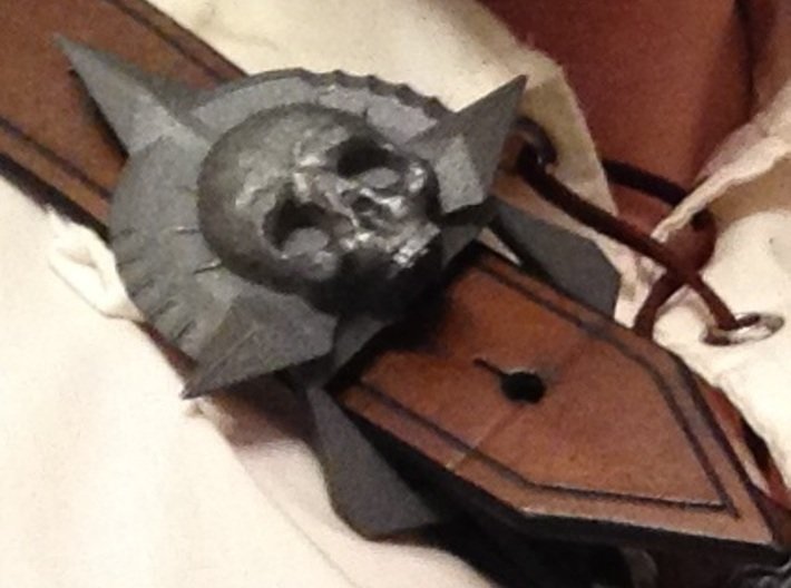 """Pirates Baldric Buckle 1-1/2"""" 3d printed As it arrives..."""