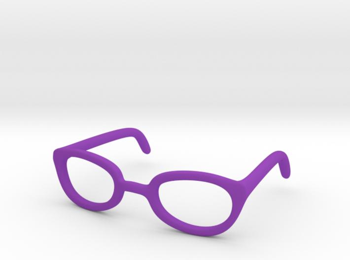 Eye Glasses Frames Egg: BJD doll size MSD 3d printed