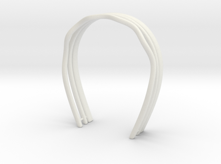 Hair bands set: For BJD doll msd size 3d printed