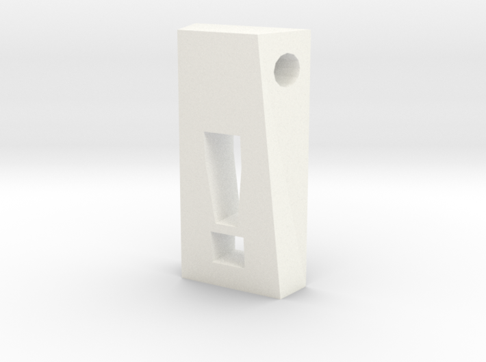 Exclamation Pendant 3d printed