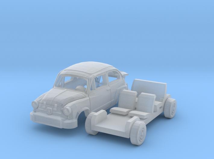 Fiat Abarth 850 TC Corsa (N 1:160) 3d printed