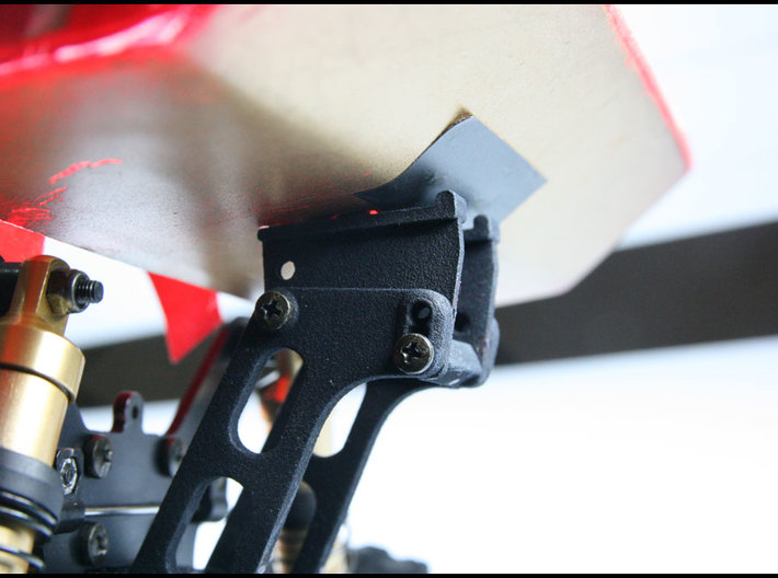 Vintage Kyosho Lazer ZX/Optima Mid wing stay 3d printed