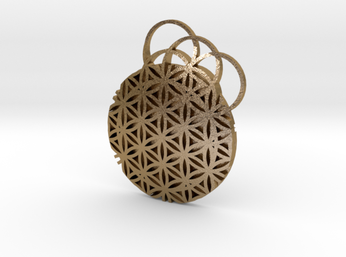 Flower Of Life Pendent 3d printed