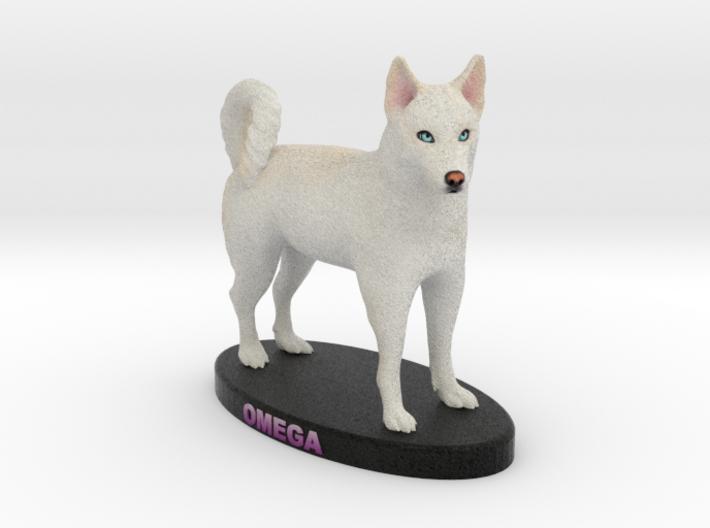 Custom Dog Figurine - Omega 3d printed