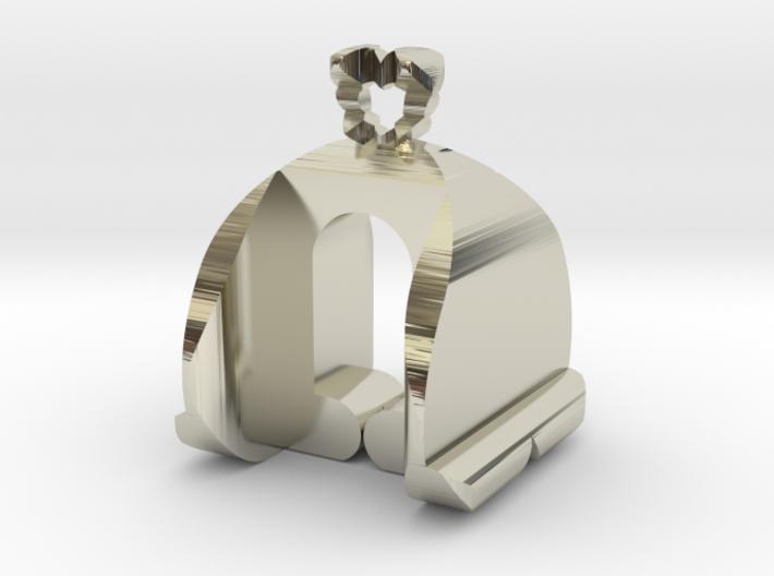I♥U Shape 2 - MP 3d printed
