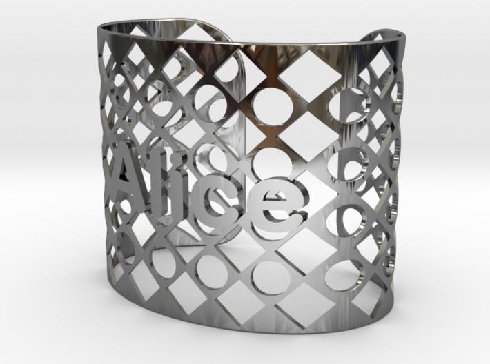 Bracelet Alice 56mm 3d printed