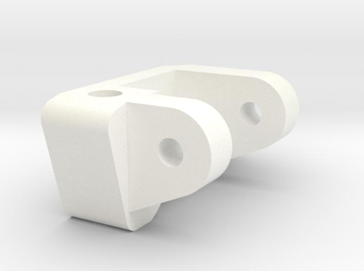 1/5 Scale Caster Block, RH 3d printed