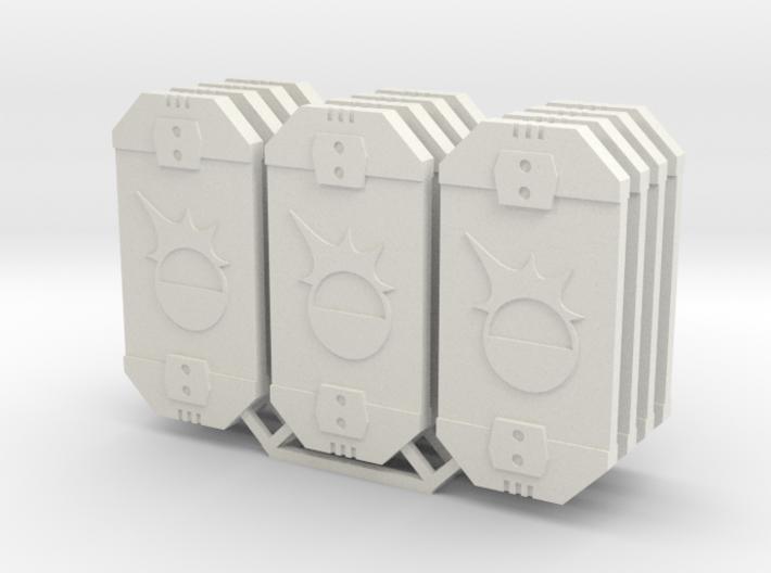 Star Wars Armada Defense Tokens 3d printed