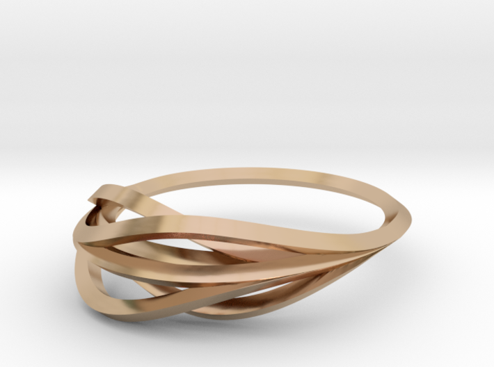 Ring 1-3 Sz 6 3d printed