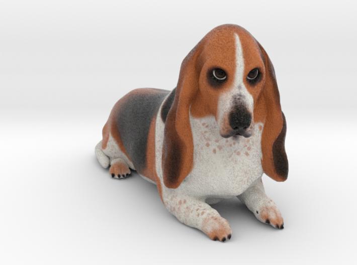Custom Dog Figurine - Ziggy 3d printed