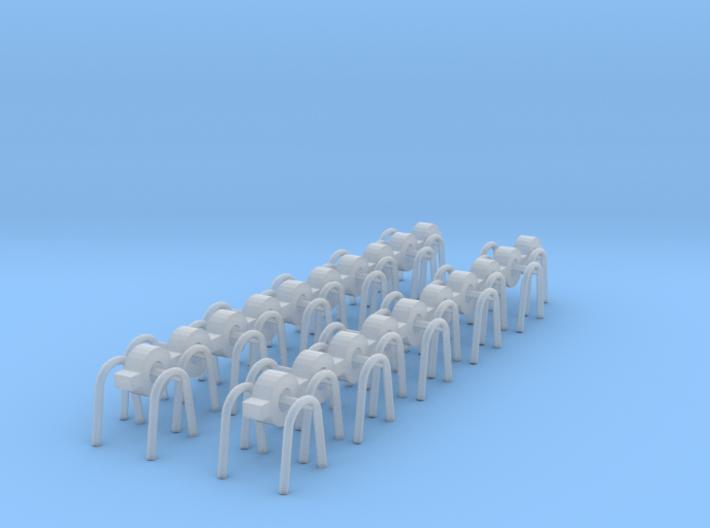 10 paar Astabweiser HANSA 3d printed