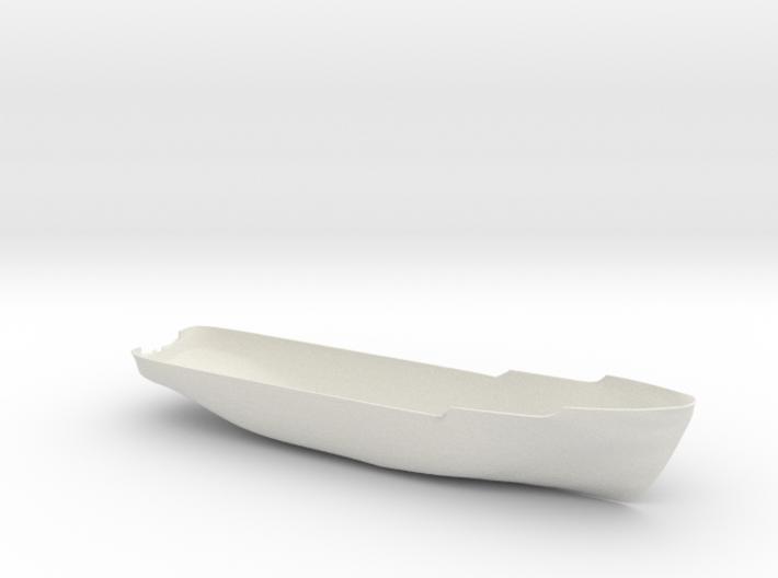 Basic Hull for Anticosti (1:200) 3d printed render