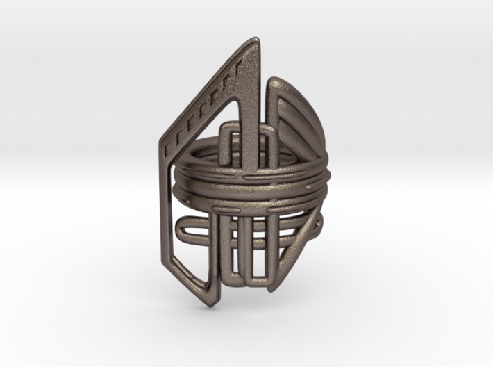 Balem's Ring2 - US-Size 10 1/2 (20.20 mm) 3d printed