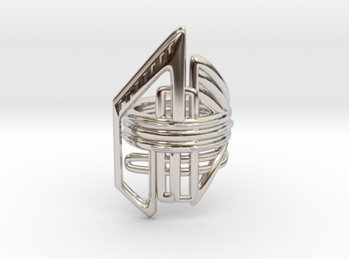 Balem's Ring2 - US-Size 11 1/2 (21.08 mm) 3d printed