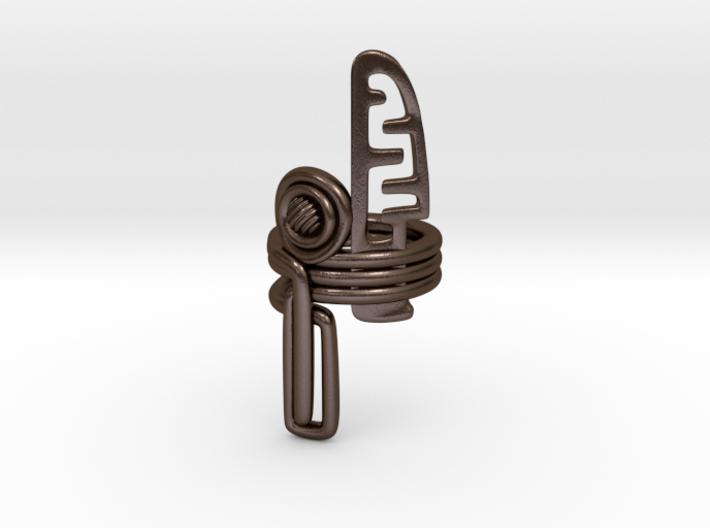 Balem's Ring3 - US-Size 3 1/2 (14.45 mm) 3d printed