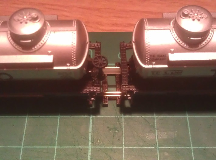 N Scale 12mm Fixed Coupling 3d printed