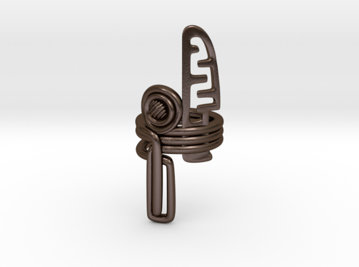 Balem's Ring3 - US-Size 11 (20.68 mm) 3d printed
