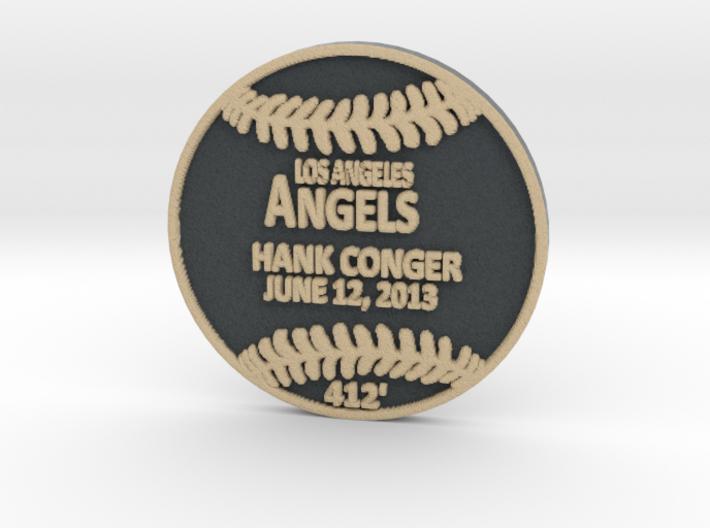 Hank Conger 3d printed