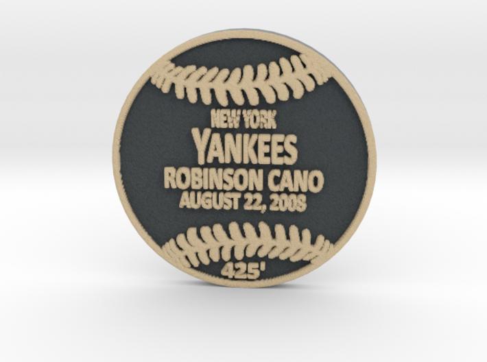 Robinson Cano 3d printed