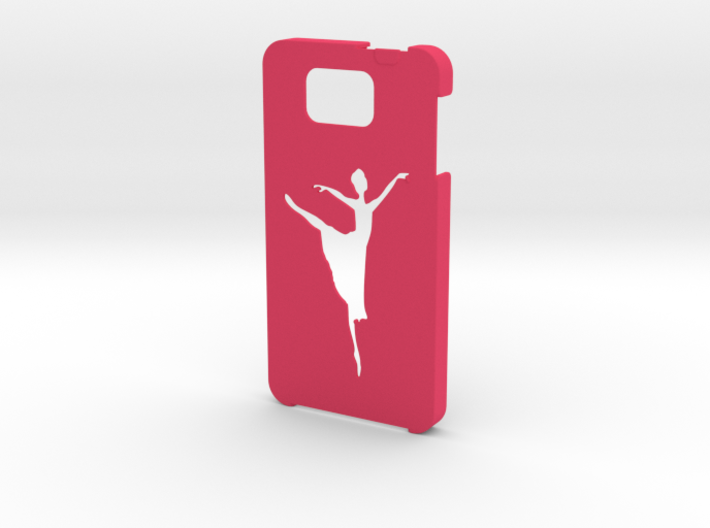 Samsung Galaxy Alpha Ballet dancer case 3d printed