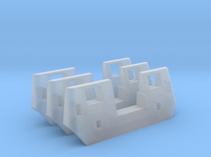 RTA/Metra F40PH Plow (HO - 1:87) 3X 3d printed