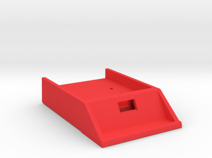 HP-71 Front Port Module w/ Opening 3d printed