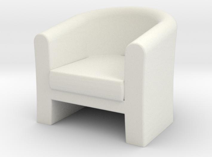 1:24 Tub Chair 3d printed