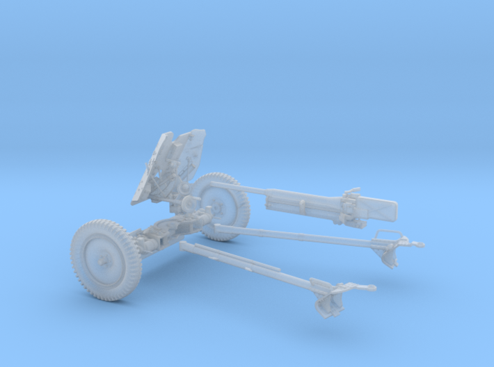 GA004-24 Pak 36 anti-tank gun 37mm L/45 1:24 3d printed