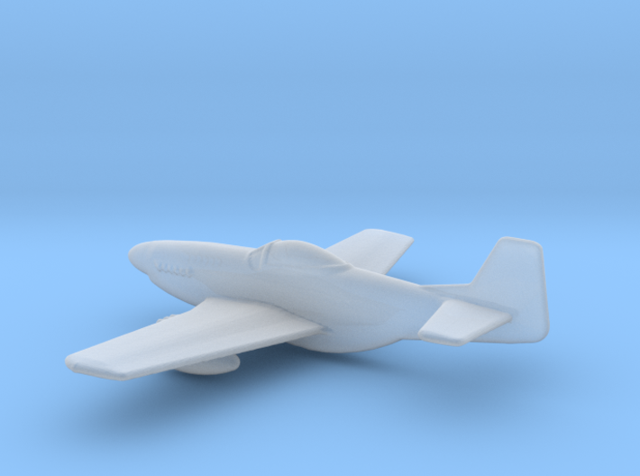 P51 Mustang 1 To 400 3d printed