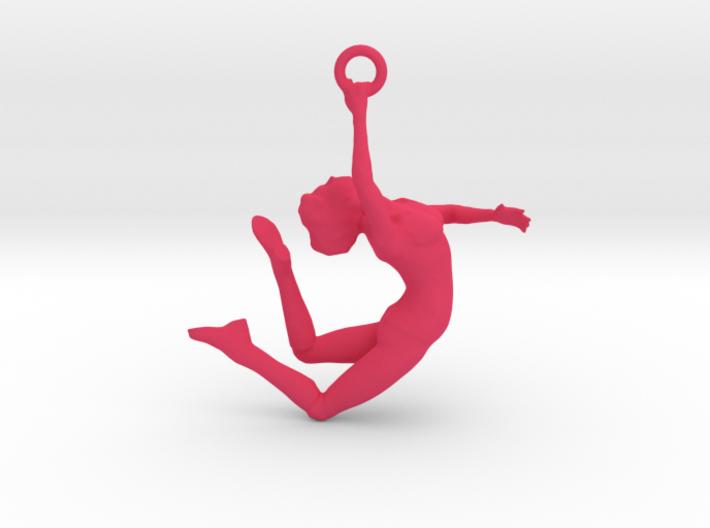 Ballerina Dancer Earing , Pendant 3d printed