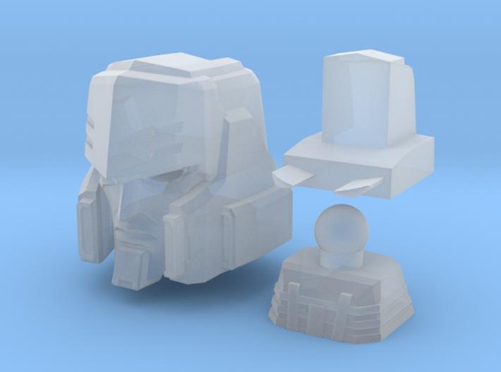 Megatron head Mtmte 3d printed