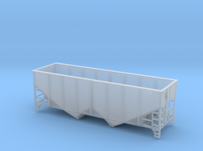 TT Scale 2 Bay Hopper 6 Panel 3d printed