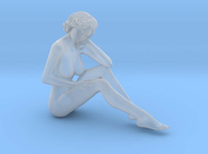 1:32 Short Haired Girl-022 3d printed
