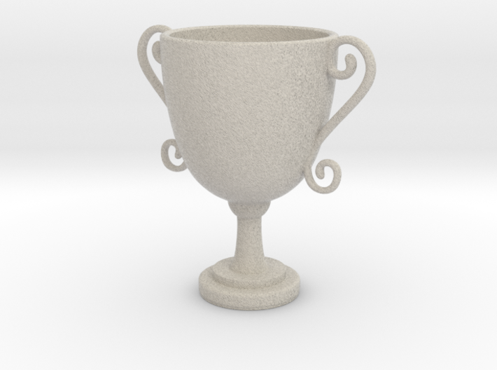 Mini trophy 3d printed