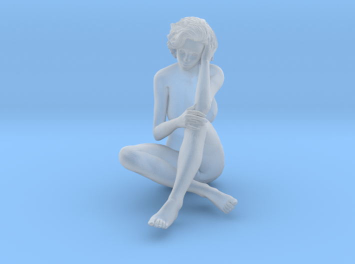 1:24 Short Haired Girl-013 3d printed