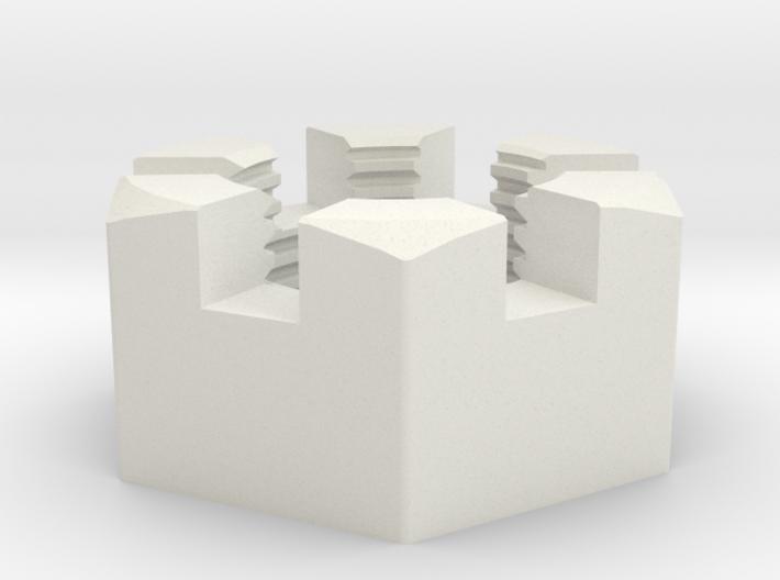 Medium Immortan Joe Codpiece Castle Nut 3d printed