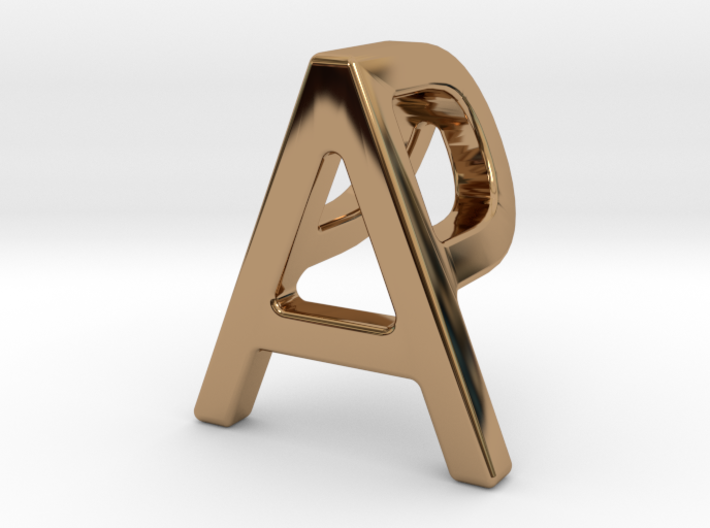 AP PA - Two way letter pendant 3d printed
